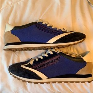 Tory Sport Banner Trainers